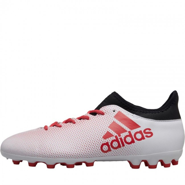 adidas X 17.3 AG  White/Real Coral/Black