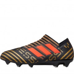 adidas Nemeziz Messi 17+ 360 Agility FG Black/Solar Red/Tactile Gold Metallic