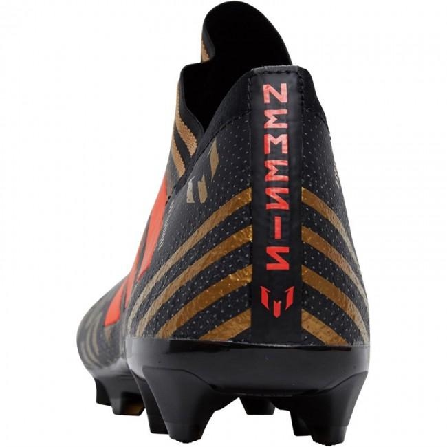 adidas Nemeziz Messi 17.1 FG Black/Solar Red/Tactile Gold Metallic