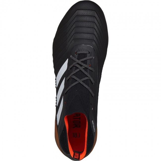 adidas Predator 18.1 FG Black/White/Solar Red