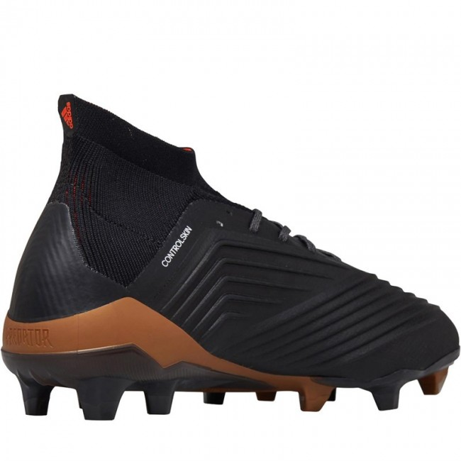 adidas Predator 18.1 FG Black/White/Solar Red