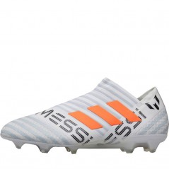 adidas Nemeziz Messi 17+ 360 Agility FG White/Solar Orange/Clear Grey