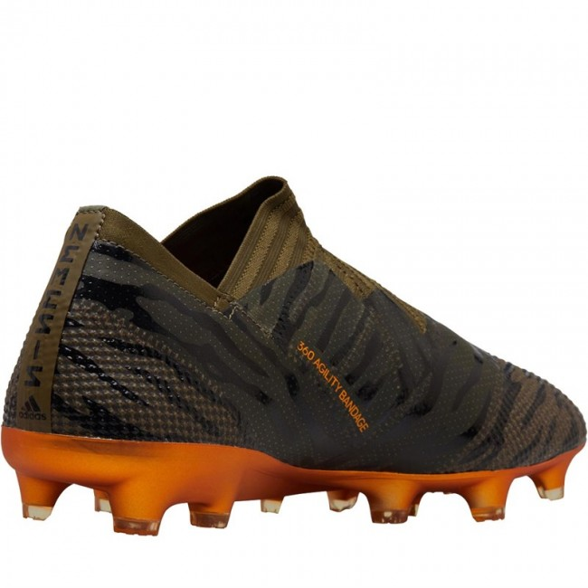 adidas Nemeziz 17+ 360 Agility FG Trace Olive/Bright Orange/Black