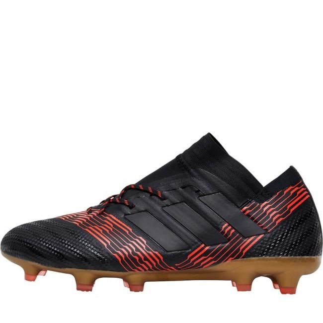 adidas Nemeziz 17.1 FG Black/Black/Solar Red
