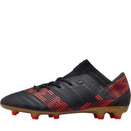 adidas Nemeziz 17.3 FG Black/Black/Solar Red