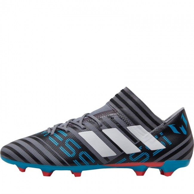 adidas Nemeziz Messi 17.3 FG Grey/ White/Black