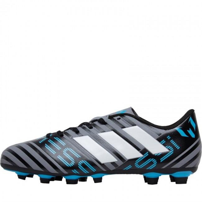 adidas Nemeziz Messi 17.4 FXG Grey/ White/Black