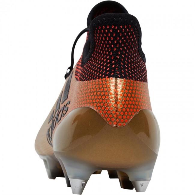 adidas X 17.1 SG Tactile Gold Metallic/Black/Solar Red