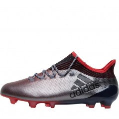 adidas X 17.1 FG Grey/Black/Real Coral