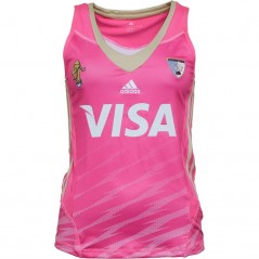 adidas Las Leonas CAH Argentina National Field Hockey Away Jersey Pink