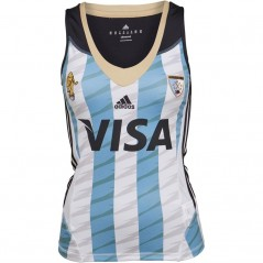 adidas Las Leonas CAH Argentina National Field Hockey Home Jersey Blue/White