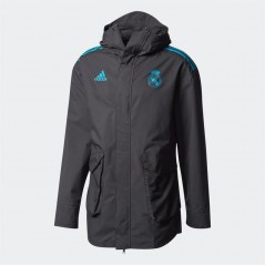 adidas RMCF Real Madrid UCL All Weather Black/Vivid Teal