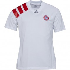 adidas FC Bayern Munich L.I. T-White/FCB True Red