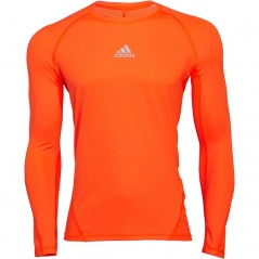 adidas AlphaSkin Sport TechCompression Solar Orange