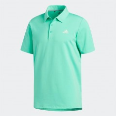 adidas Golf Ultimate365 Solid Polo Hi-Res Green
