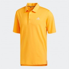 adidas Golf Ultimate365 Solid Polo Real Gold
