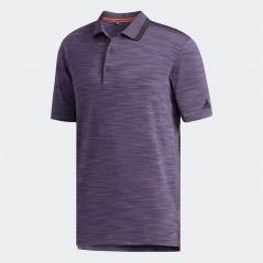 adidas Golf Ultimate365 Textured Polo Trace Purple Heather/Black