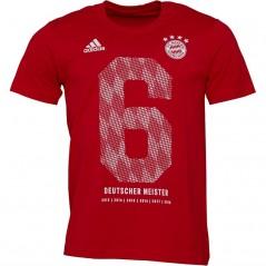 adidas FC Bayern Munich Event T-Red/White