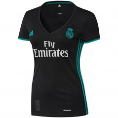 adidas RMCF Real Madrid Away Replica Jersey Black/Aero Reef