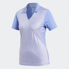 adidas Golf Novelty Polo Chalk Purple