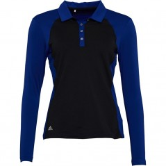 adidas Golf Midweight Polo Mystery Ink/Black