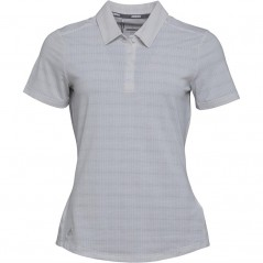 adidas Micro-Dot StPolo White/Medium Grey Heather
