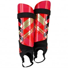 adidas Ghost Reflex Shin Guards Solar Red/Red/Black