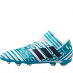 adidas Junior Nemeziz 17.3 FG  White/Legend Ink/Energy Blue