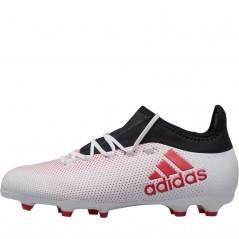 adidas Junior X 17.1 FG Grey/Real Coral/Black