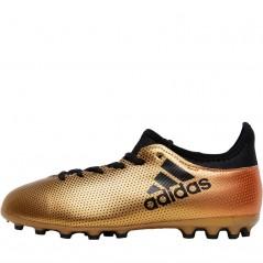 adidas Junior X17.3 AG Tactile Gold Metallic/Black/Solar Red