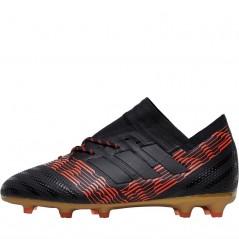 adidas Junior Nemeziz 17.1 FG Black/Solar Red
