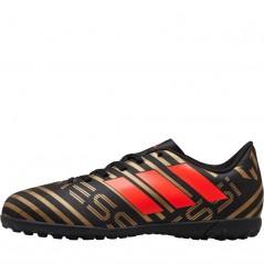 adidas Junior Nemeziz Messi Tango 17.4 TF Astro Black/Solar Red/Gold
