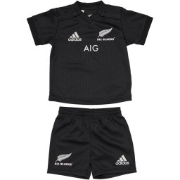 adidas Baby All Blacks Home Mini Kit Black