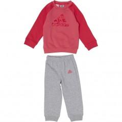 adidas Baby Jogger Set Chalk Pink/Real Pink/Vivid Berry