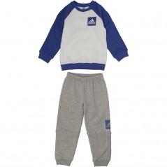 adidas Baby Jogger Set White/Hi-Res Blue
