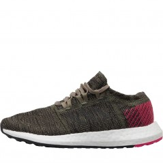 adidas Junior Pureboost Go Base Green/Trace Cargo/Shock Pink