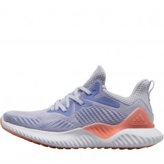 adidas Junior Alphabounce Beyond Aero Blue/Chalk Purple/ White