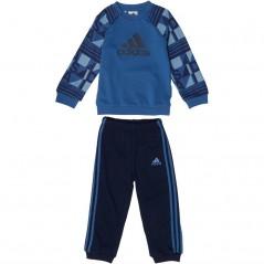 adidas Baby Printed Terry Jogger Set Trace Royal/Ash Blue/Noble Indigo