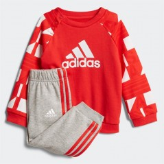 adidas Baby Superstar Printed Jogger Set Vivid Red/White/Scarlet