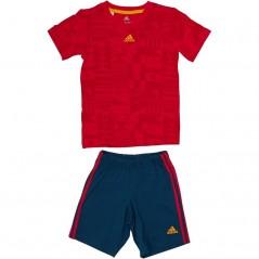 adidas Baby World CSummer Set Vivid Red/Scarlet/Gold