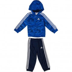 adidas Baby Shiny Jogger Set Hi-Res Blue/Collegiate Navy/Collegiate Royal/White