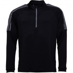 adidas 3 Stripes 1/2 Golf SweatBlack