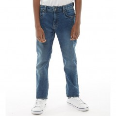 Farah Junior 5 Pocket Skinny Mid Blue