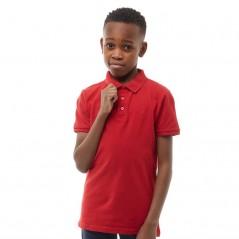 Farah Junior Bugsworth Polo Signal Red