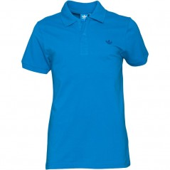 adidas Originals Trefoil Pique Polo Blue