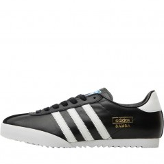adidas Originals Bamba Black/White/Metallic Gold