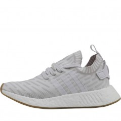 adidas Originals NMD_R2 PrimeWhite/White/Shock Pink
