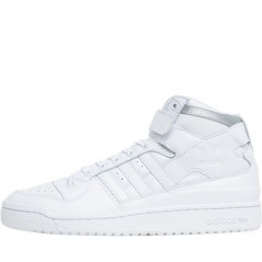adidas Originals Forum Refined  White/ White/Silver Metallic