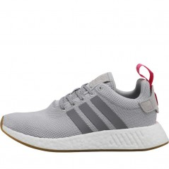 adidas Originals NMD_R2 Grey Two/Grey Three/Shock Pink