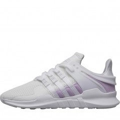 adidas Originals EQT Support ADV  White/ White/Purple Glow